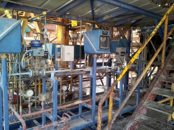 Natural Gas Firing Skid2